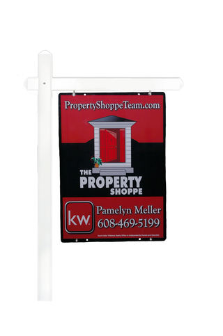 The Property Shoppe team sign & post