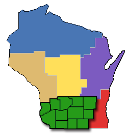 South_central_WI_map